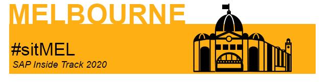 sitMEL - SAP Inside Track Melbourne 2020 logo