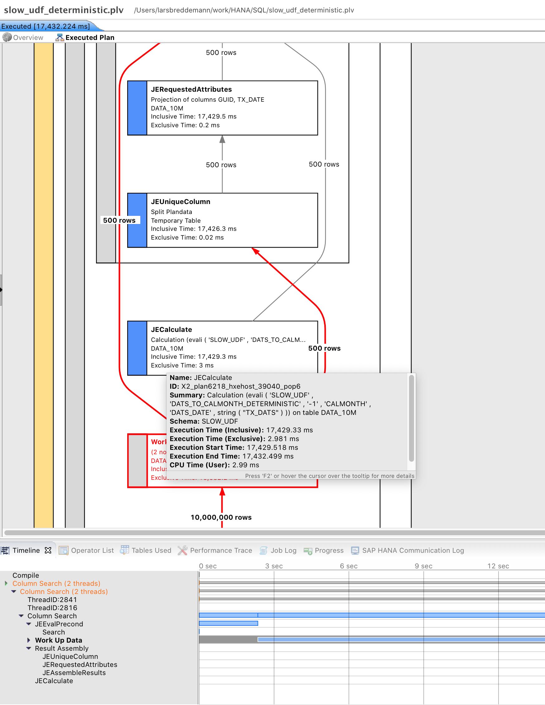 PlanViz for deterministic UDF version.